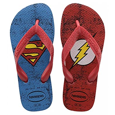 49678b7322a24f Havaianas Kids Herois DC Ruby Red Rubber Infant Flip Flops  Amazon.co.uk   Shoes   Bags