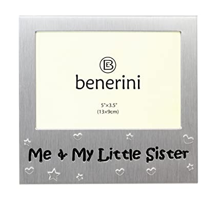Amazon.com - Me and My Little Sister - Photo Picture Frame Gift ...