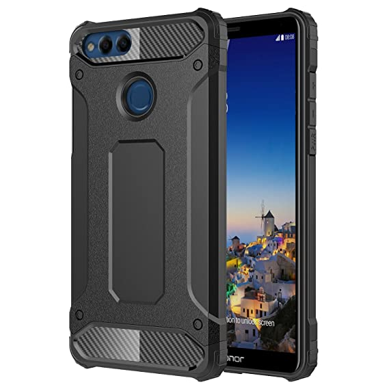 sale retailer 9afb1 6602b Huawei Honor 7X Case, Torryka Drop Protection Sleek Slim Fit Durable  Anti-scratch Dual Layer Shockproof Dustproof Armor Cover Case For Huawei  Honor 7 ...