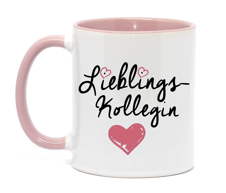 Lieblingskollegin Tasse in hochwertiger Qualität, beidseitig ...