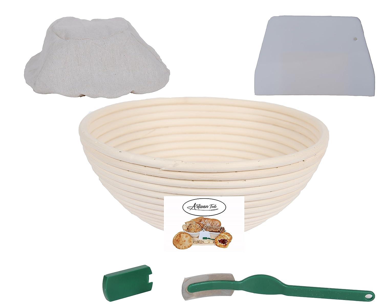Banneton Bread Proofing Basket Round 8.5