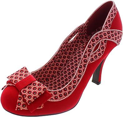 Ruby Shoo Ivy Damen Schuhe Rot