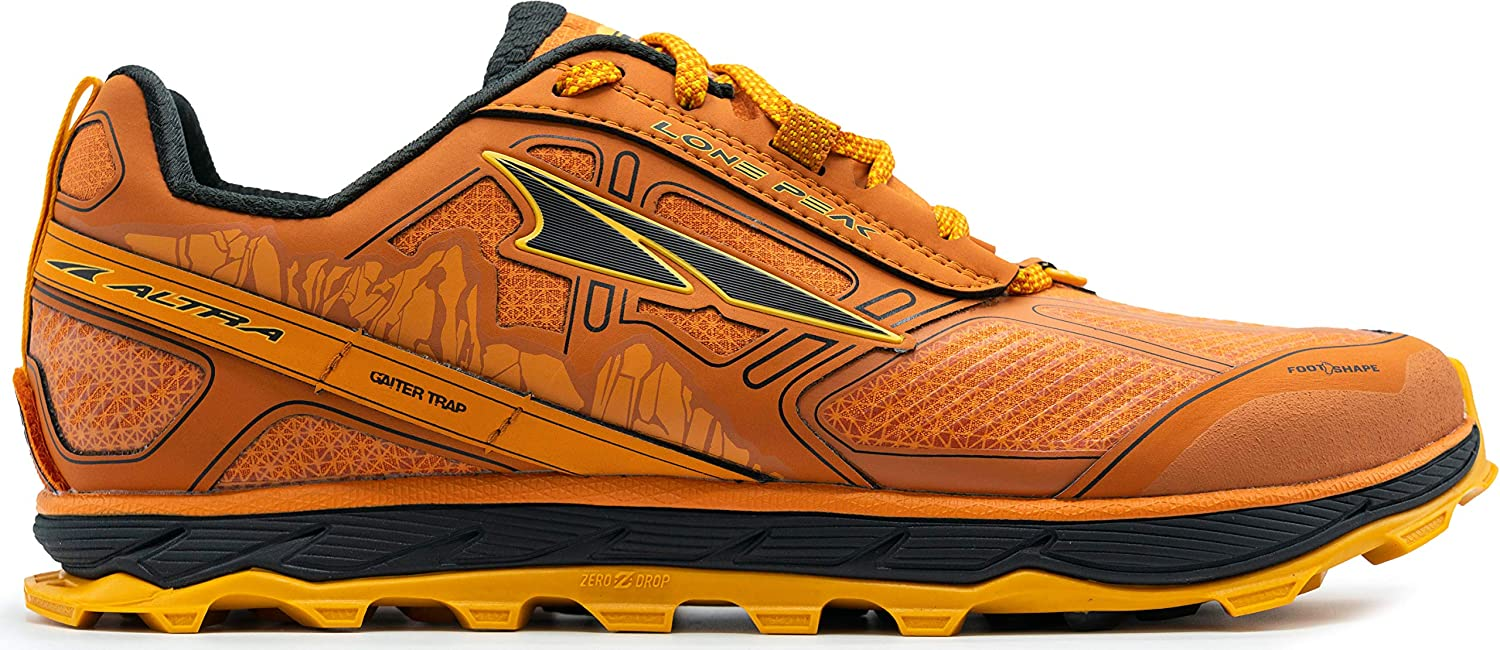 ALTRA Men s Lone Peak 4 Low RSM Waterproof Trail Running Shoe
