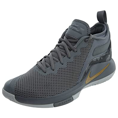 e26c3aa1f053 Nike Mens LEBRON WITNESS II Size 10.5 Style number 942518-009   Cool Grey-