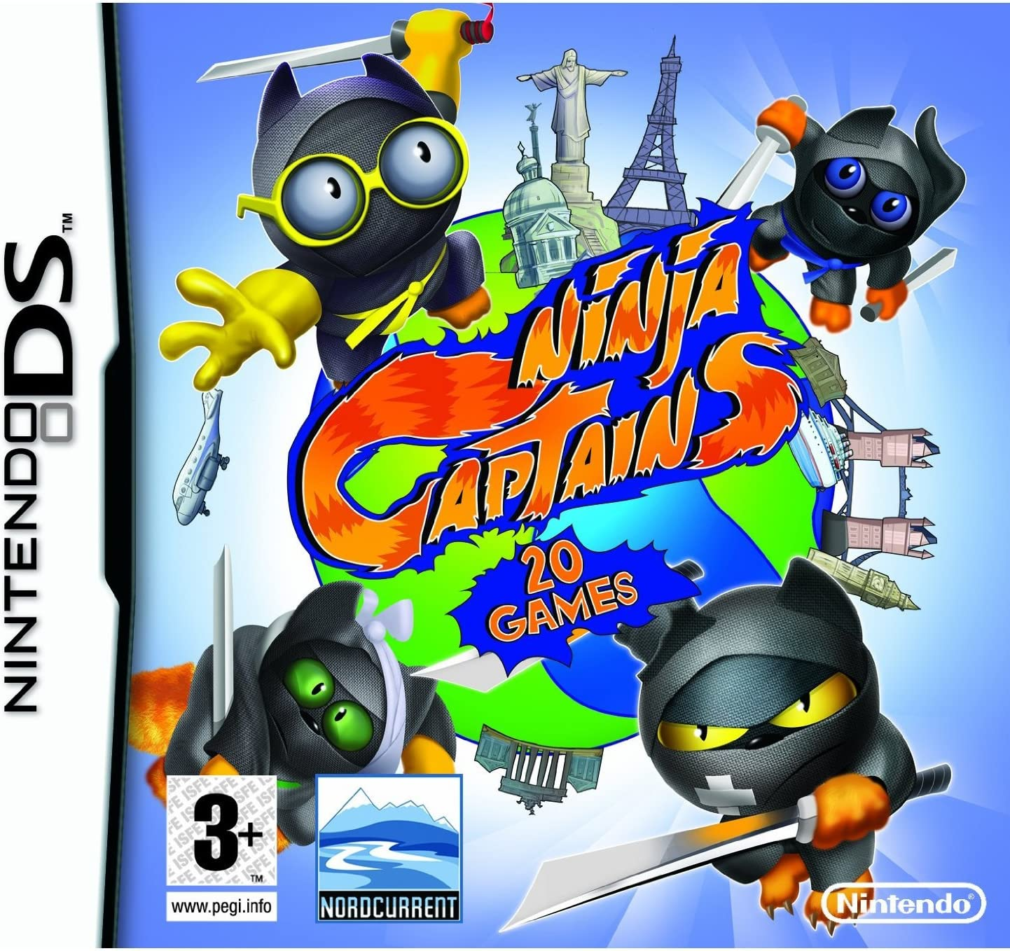 "Amazon.com: Ninja Captains (Nintendo DS) 20 Games, ""Dig your ..."