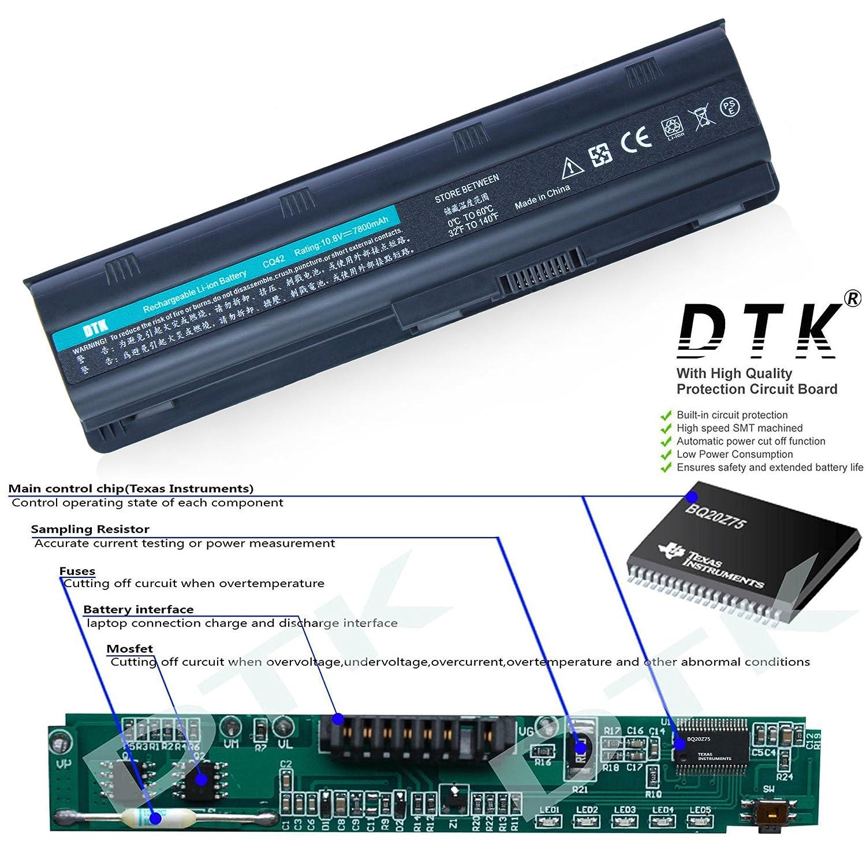 Dtk High Capacity Laptop Notebook Battery For Hp G32 G42 11 Pounds Of Scrap Old Circuit Boards Gigabyte Nvidia Zotac Msi G62 G4 G6 G7 Compaq Presario Cq32 Cq42 Cq43 Cq430 Cq56 Cq62 Cq72 Pavilion Dm4