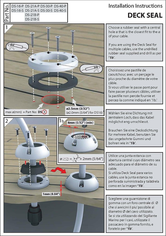 Scanstrut Deck Seal Ds30 P Decksdurchführung Elektronik