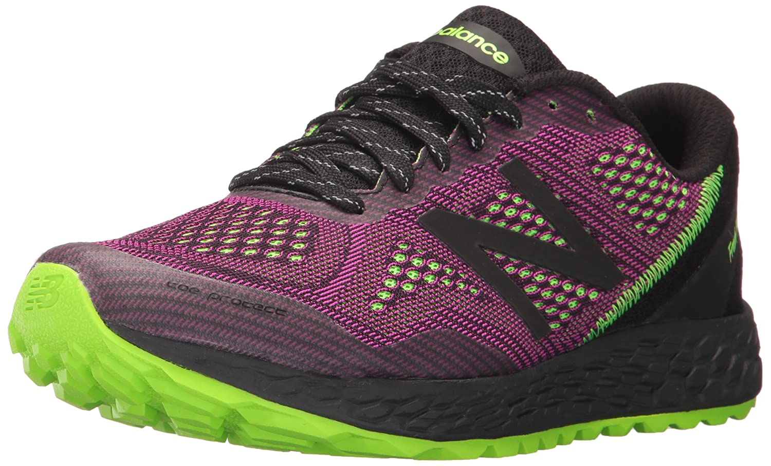New Balance Women's Gobiv2 Running Shoe B01N77XLMC 11 B(M) US|Poisonberry/Black