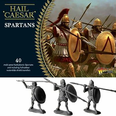 Warlord Games WLWGH-GR-01 Spartani - Hail Caesar: Toys & Games