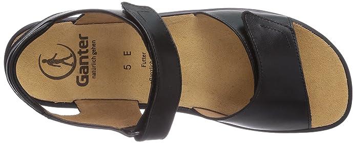 Sonnica 02000 Noir Ganter Sandales 202857 Weite 3 E 39 Femme CUPdXwxP