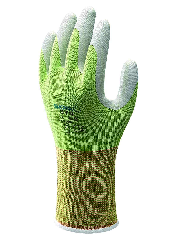 Showa Floreo 370 Lightweight Gardening Gloves Colour: Green, Size: Large Globus