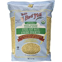 Bob's Red Mill Steel Cut Ouats Quick Cooking 3.17 KG, 3.2 Kilogram