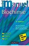 Mini Manuel de Biochimie: Cours + QCM/QROC + exos