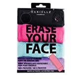 Make-up Removing Cloths 4 Count, Erase Your Face By Danielle Enterprises Enterprises Enterprises (Color: Black, Pink, Blue, Purple, Tamaño: 4 Count)