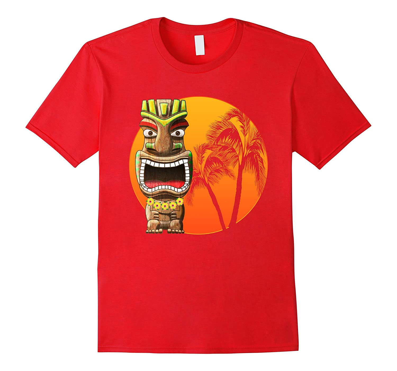 Hawaii Islands Polynesian Tiki T-Shirt-T-Shirt