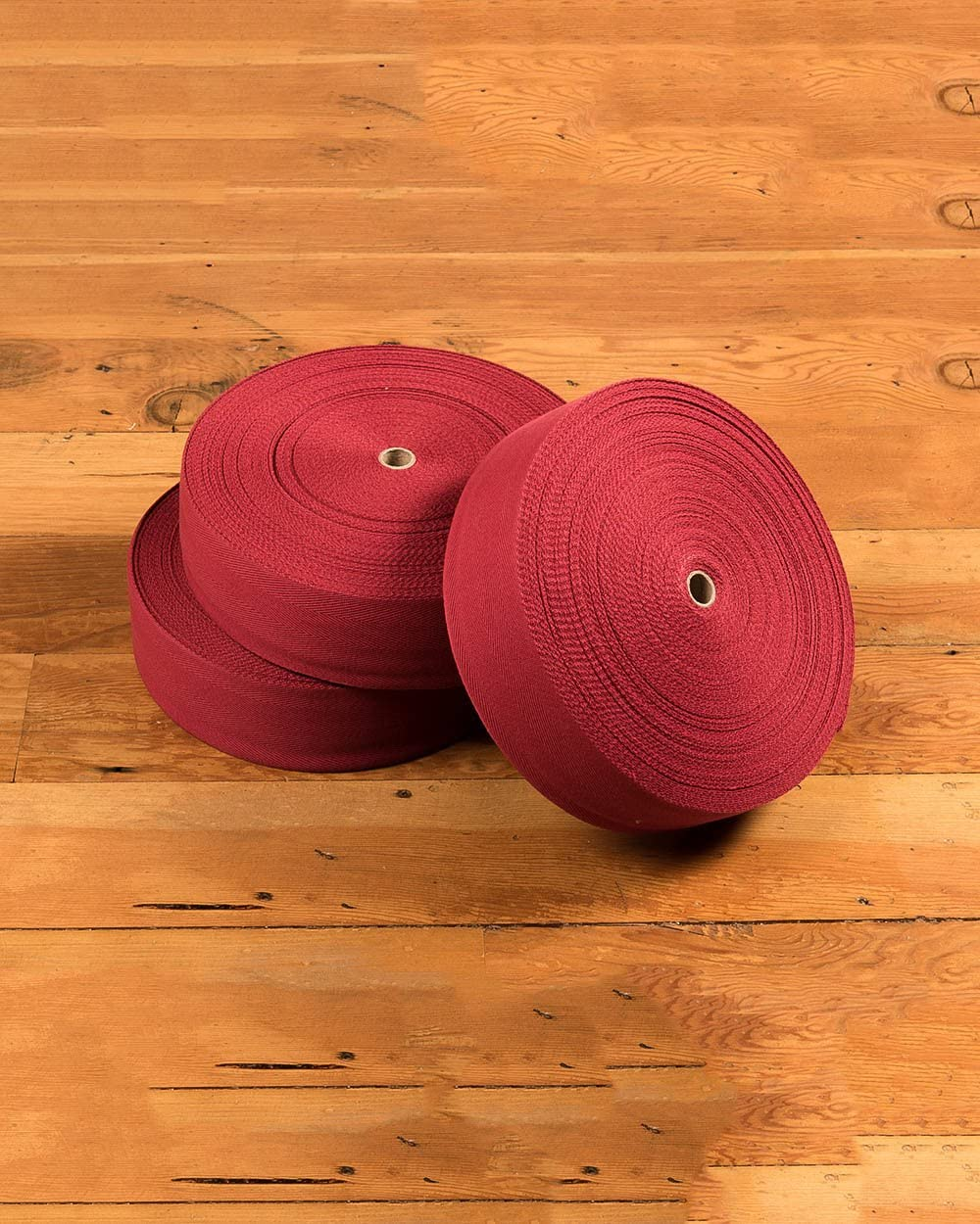 Natural Area Rugs 4.75 x 164 Foot Extra Wide Eco Friendly Cotton Non Slip Carpet Tape – Red Cherry 164