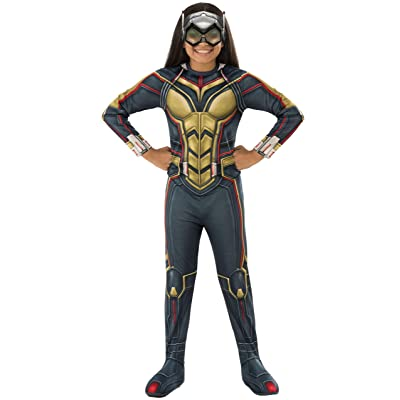 Rubie's Marvel Avengers: Endgame Child's Deluxe Wasp Costume & Mask, Small: Toys & Games