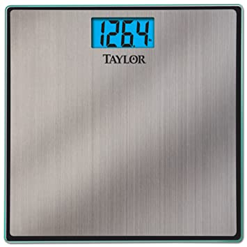 Taylor Stainless Steel Electronic Lithium Scale