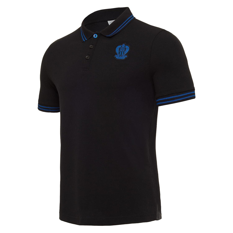 Macron offizielles Polo t-Shirt aus Polycotton OGC Nice 2017/18 Senior