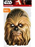 Chewbacca Official Star Wars Paper Cardboard Mask