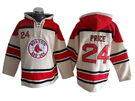 Price 24 Red Sox Baseball Hoodie Men Onesie Sweatshirt Champion Tank top  Sweaters Pullover Jersey ( c14b653b4b95