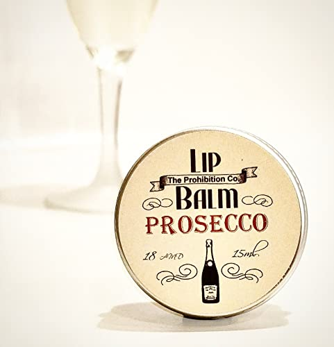 Prosecco Lip Balm by The Prohibition Co. 15ml Tin