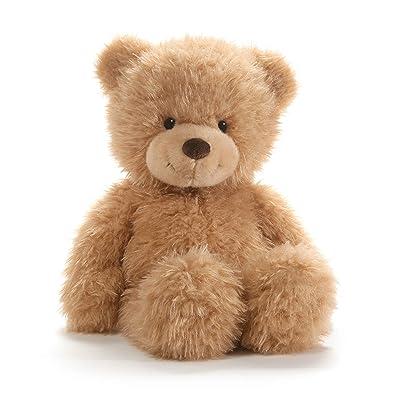 "GUND Ginger Teddy Bear Stuffed Animal Plush, Beige, 15"": Toys & Games"