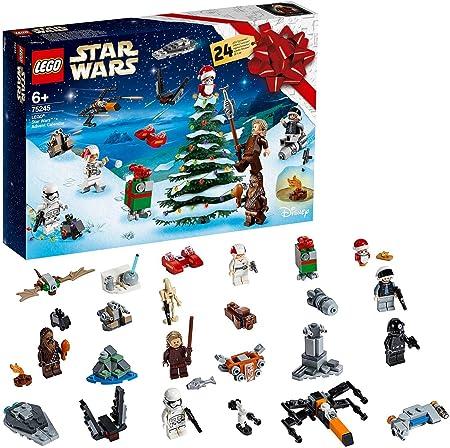 Abre una ventana cada día y ve descubriendo los 24 juguetes para construir lego star wars.,El calend