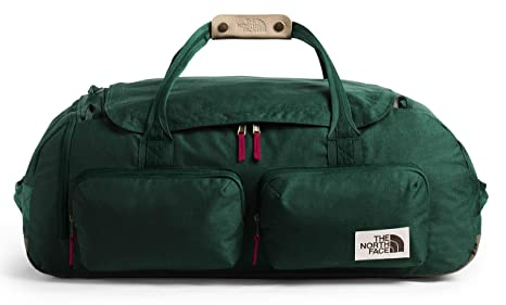 The North Face Berkeley Duffel - Large, Night Green Light ...
