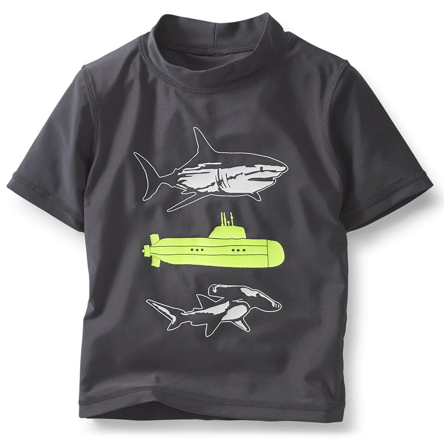 Carters Rash Guard Neon Shark 12M