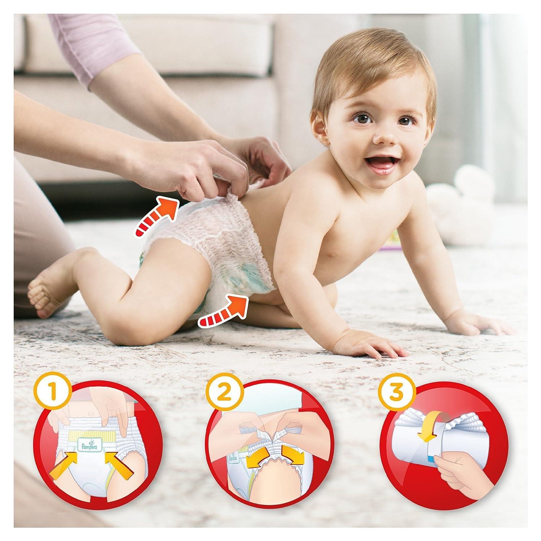 Pampers - Baby Dry Pants - Juego de 94 pañales desechables, talla 4 (8-14 kg) - Mega + Pack: Amazon.es: Salud y cuidado personal