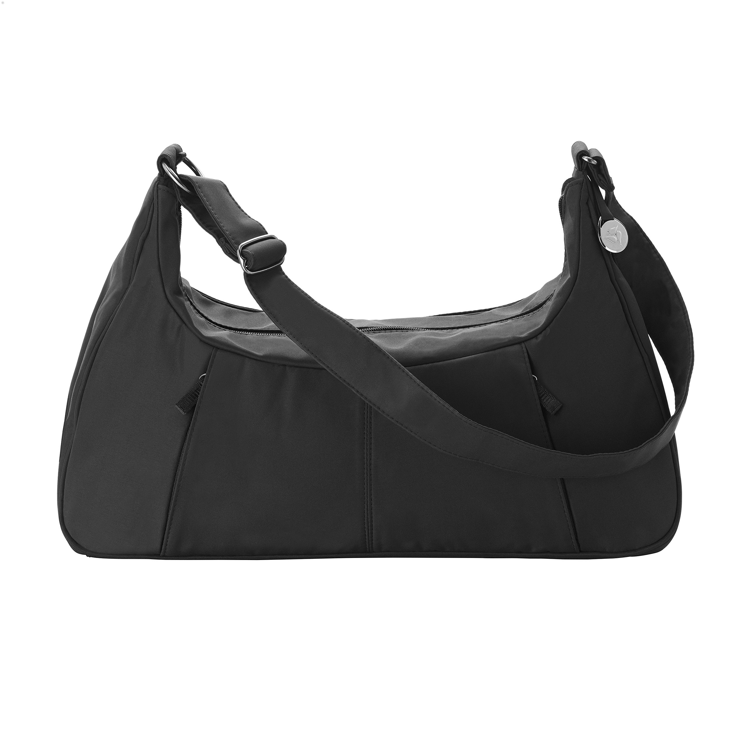 Medela Breast Pump Bag, Convenient Tote Bag for Your Sonata, Freestyle, or Pump in Style Advanced Breast Pump; Black; Water-Resistant Microfiber and Power Adapter Access Port