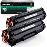 LINKYO Replacement Toner Cartridges for HP 79A CF279A (Black, 2-Pack)