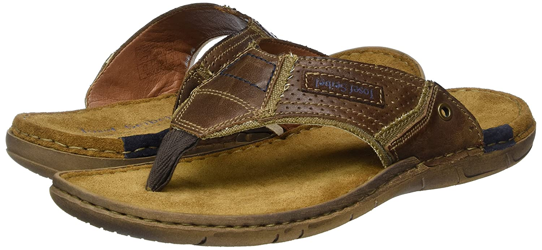 e43b2bc1e99 Josef Seibel Paul 39 - Sandalias de Dedo Hombre  Amazon.es  Zapatos y  complementos