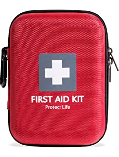 first aid kit 150 piece for car home travel sports