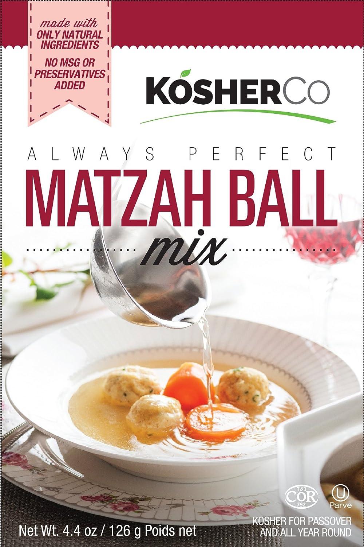 Kosherco All Natural Matzo Ball soup Mix 4.4 oz-Pack of 3
