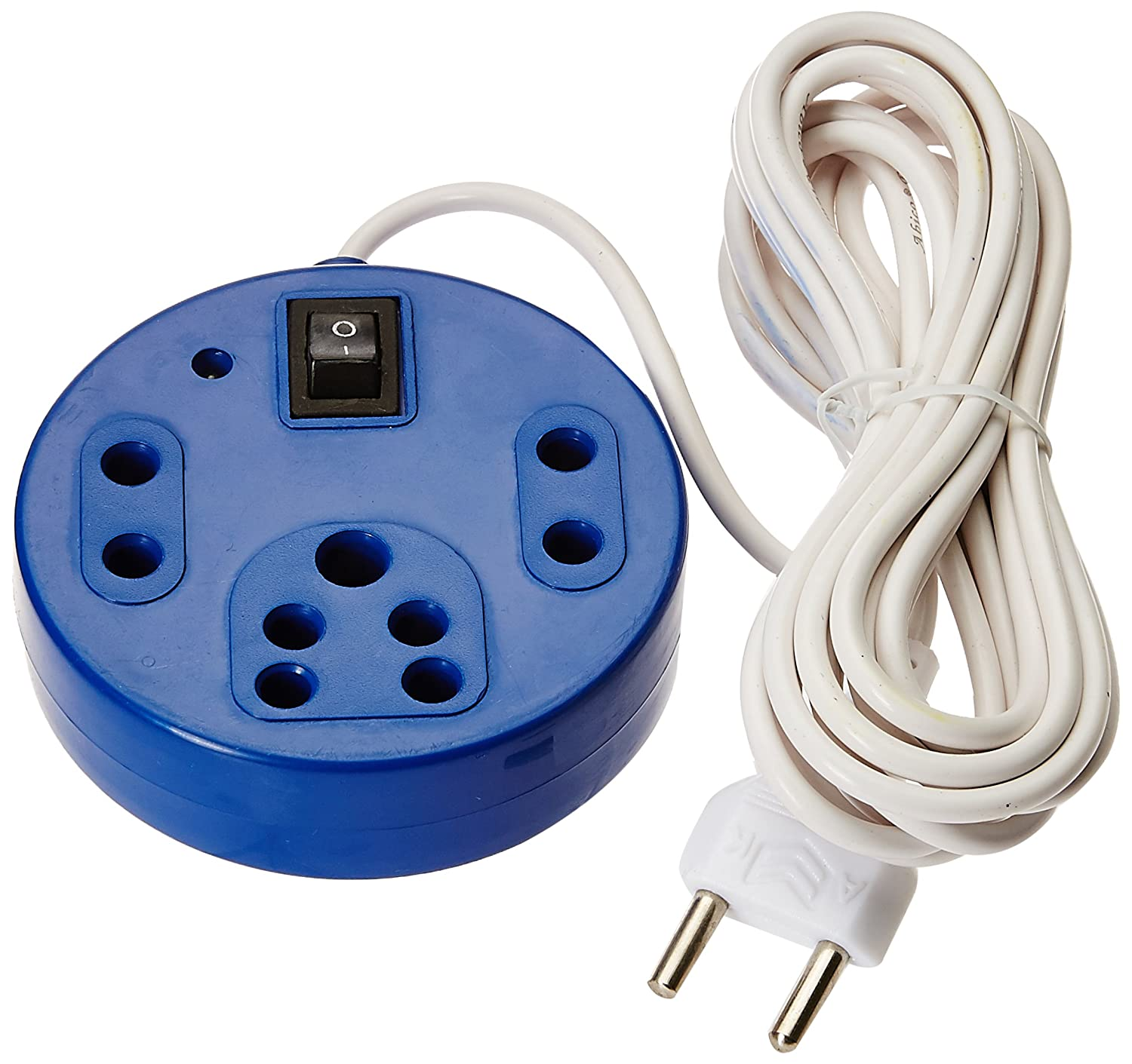 generic 3+1 Round Shape extension cord With 3 Meter Wire (2 Pin & 3 ...