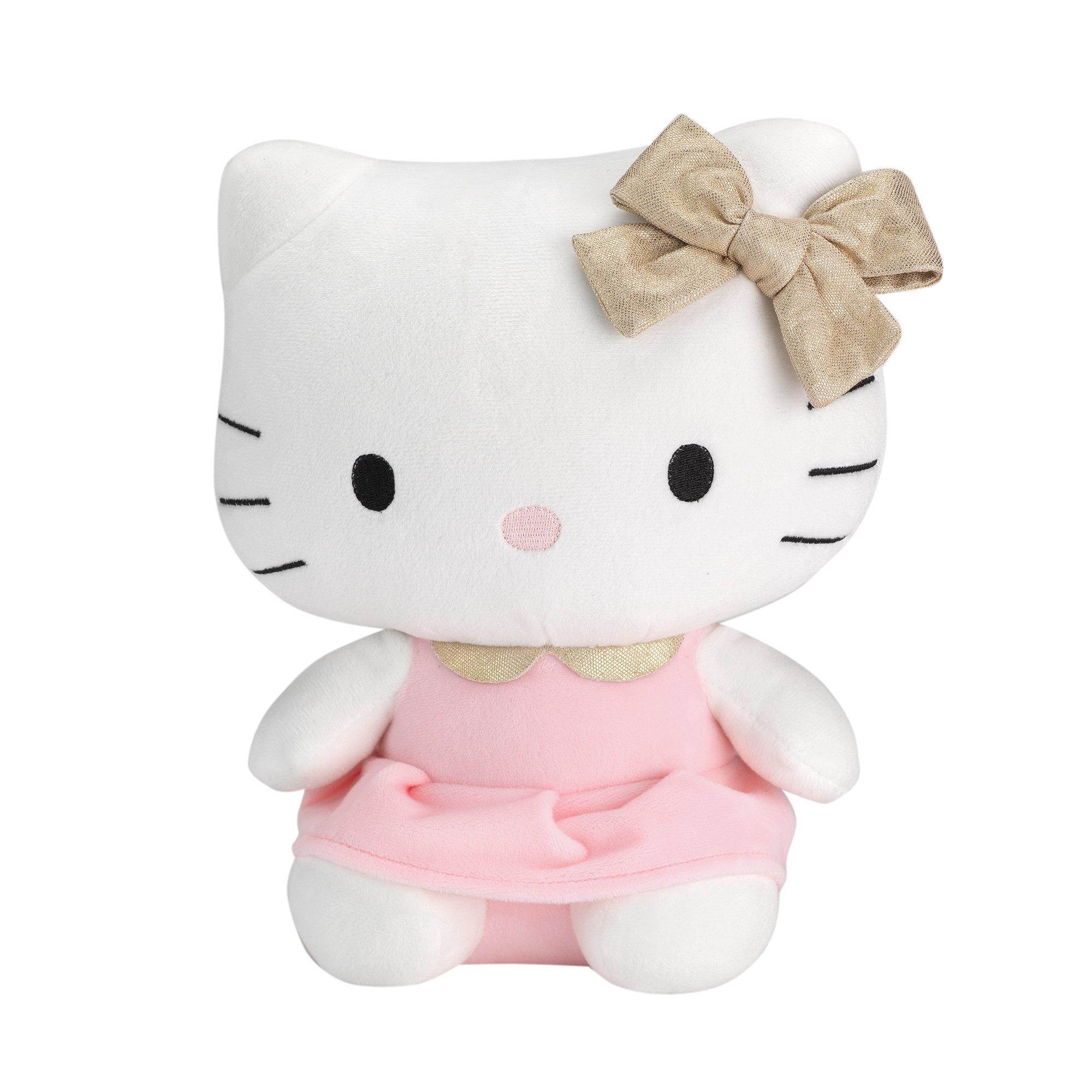 Lambs & Ivy Hello Kitty Plush, Pink/White