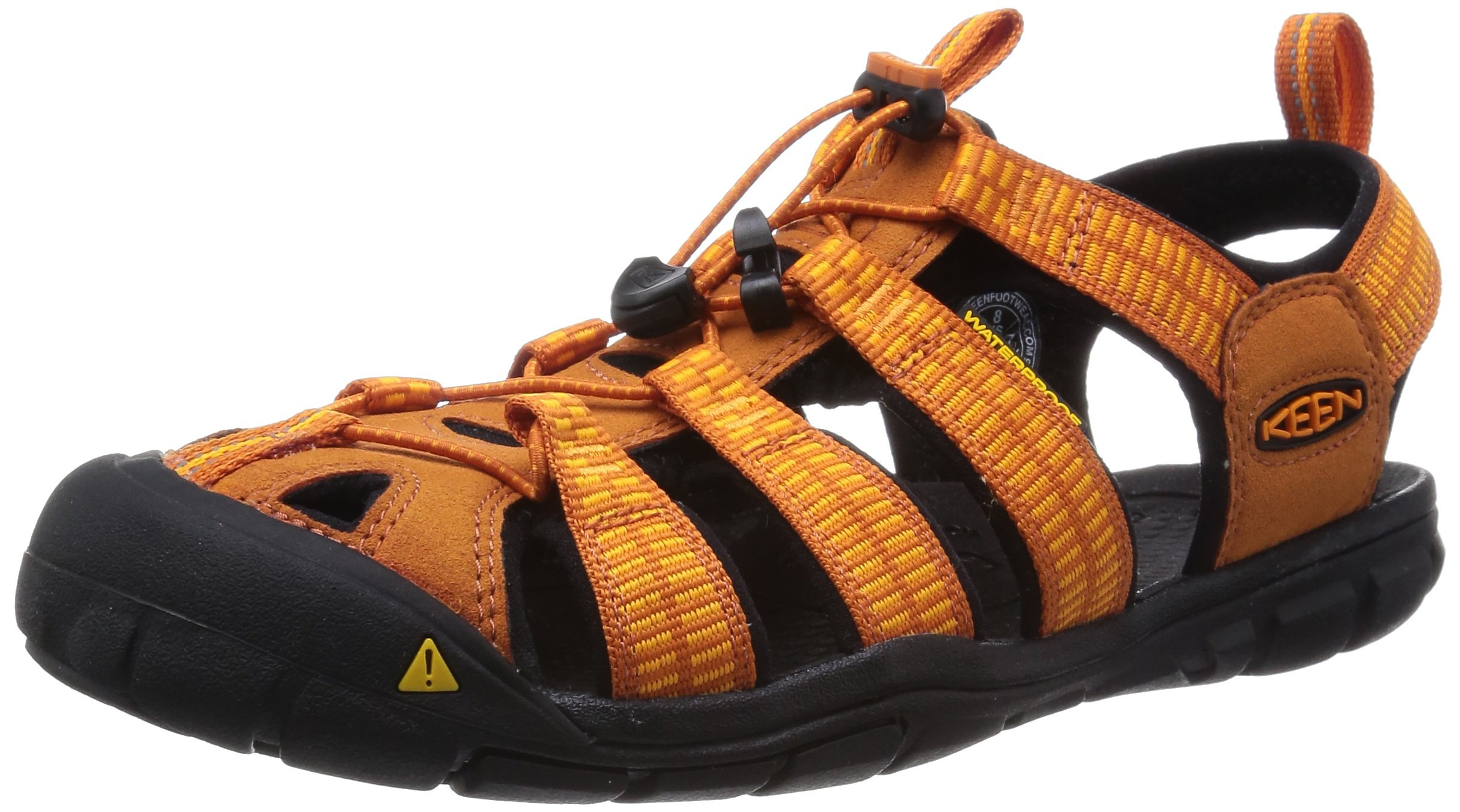 KEEN Men's Clearwater CNX Hybrid Shoe, Sunset/Marigold, 11 M US