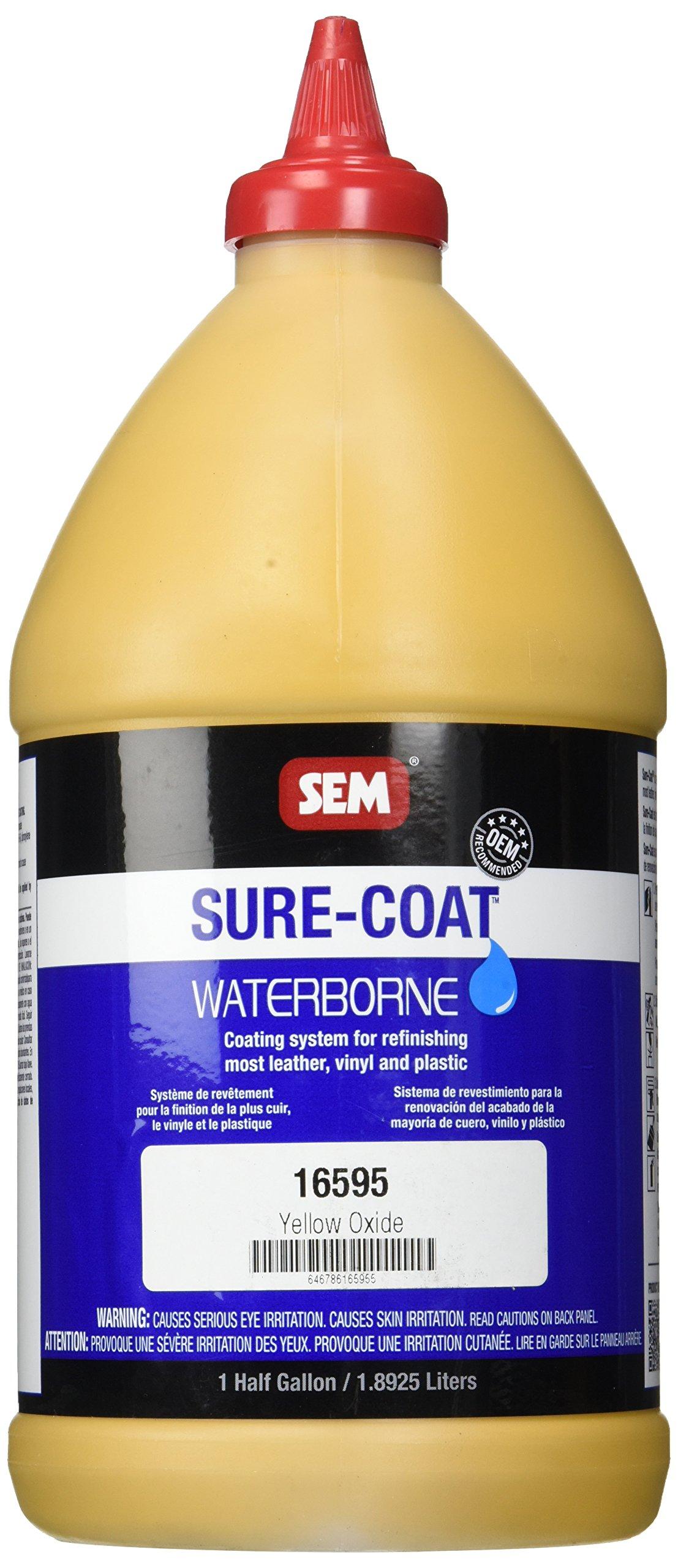 SEM 16595 Yellow Oxide Sure-Coat - 0.5 Gallon