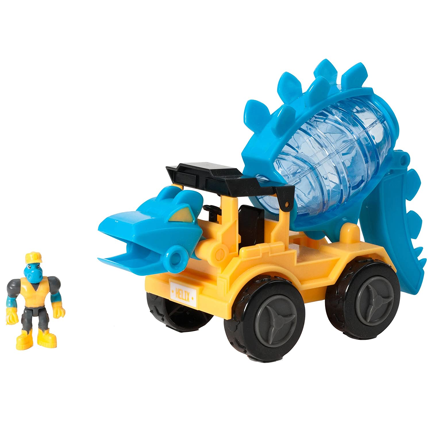 Learning Resources Dino Construction Company Stegosaurus toy Cement Truck Learning Resources (UK Direct Account) EI-4157