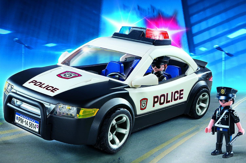 Amazoncom PLAYMOBIL Police Car Vehicle Toys Games - Police car