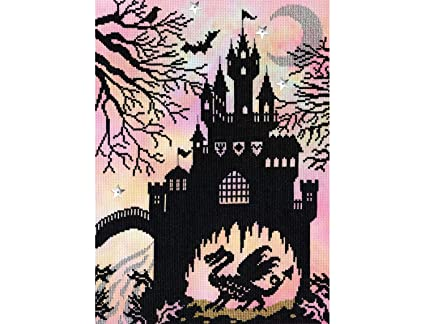 Dragon Castle Enchanted Series Bothy Threads Counted Cross Stitch Kit XE2