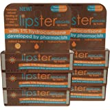 Lipster Medicated Lip Balm with 1% Hydrocortisone (6 pack)