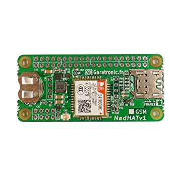 NadHAT v1 GSM/GPRS expansion board for Raspberry Pi B+: Amazon co uk