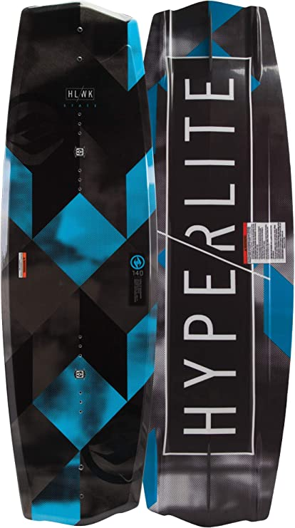 Hyperlite 2019 State Jr 2.0 Wakeboard 125 Black with Boys Remix Boots