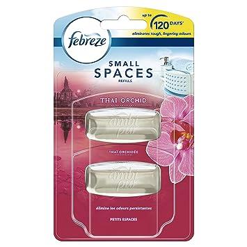 Febreze Small Spaces Air Freshener Refill Cotton Fresh 2 x 5.5 ml ...