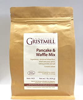 product image for Homestead Gristmill — Non-GMO, Chemical-Free, All-Natural Original Pancake/Waffle Mix (2 Pack)