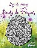 Livre de coloriage d'oeufs de Pâques