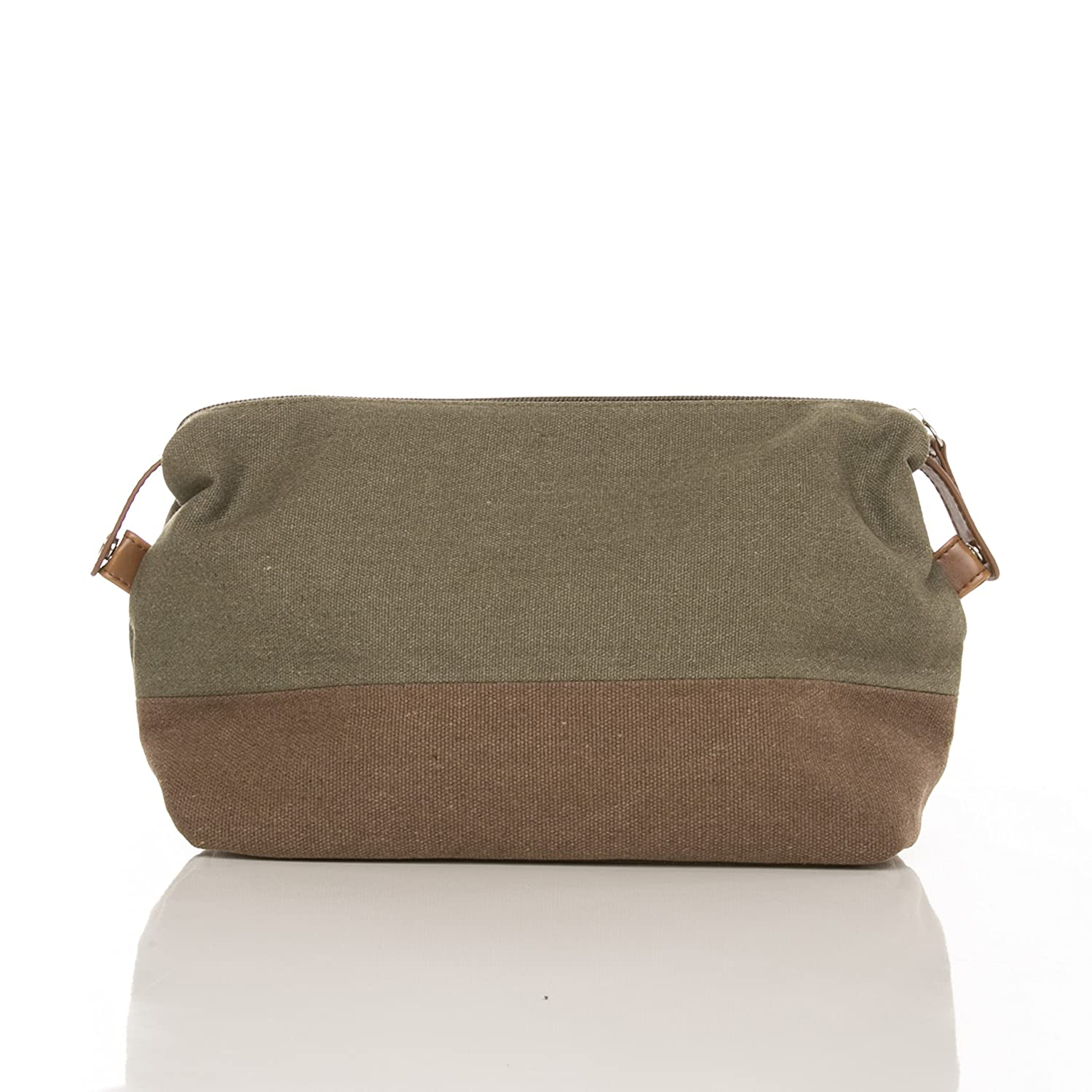 67ff7a21b7 Buy SMB Group Original Toiletry Bag (Military Green   Brown) Online at Low  Prices in India - Amazon.in